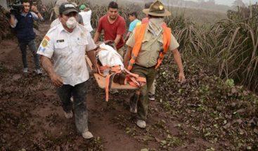 Suben a 161 las muertes por tragedia del volcán de Fuego de Guatemala
