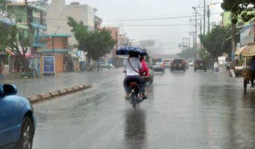 Aguaceros dispersos y tronadas en varias localidades del país, según Onamet