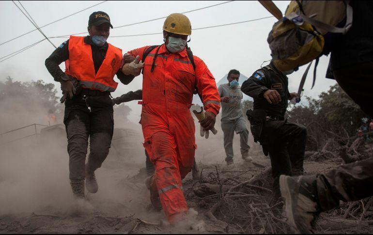 Suben a 156 los fallecidos por la erupción del volcán de Fuego de Guatemala