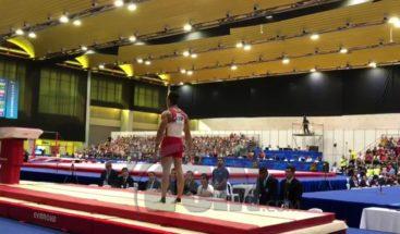 Audrys Nin consigue en salto segundo oro de RD en la gimnasia
