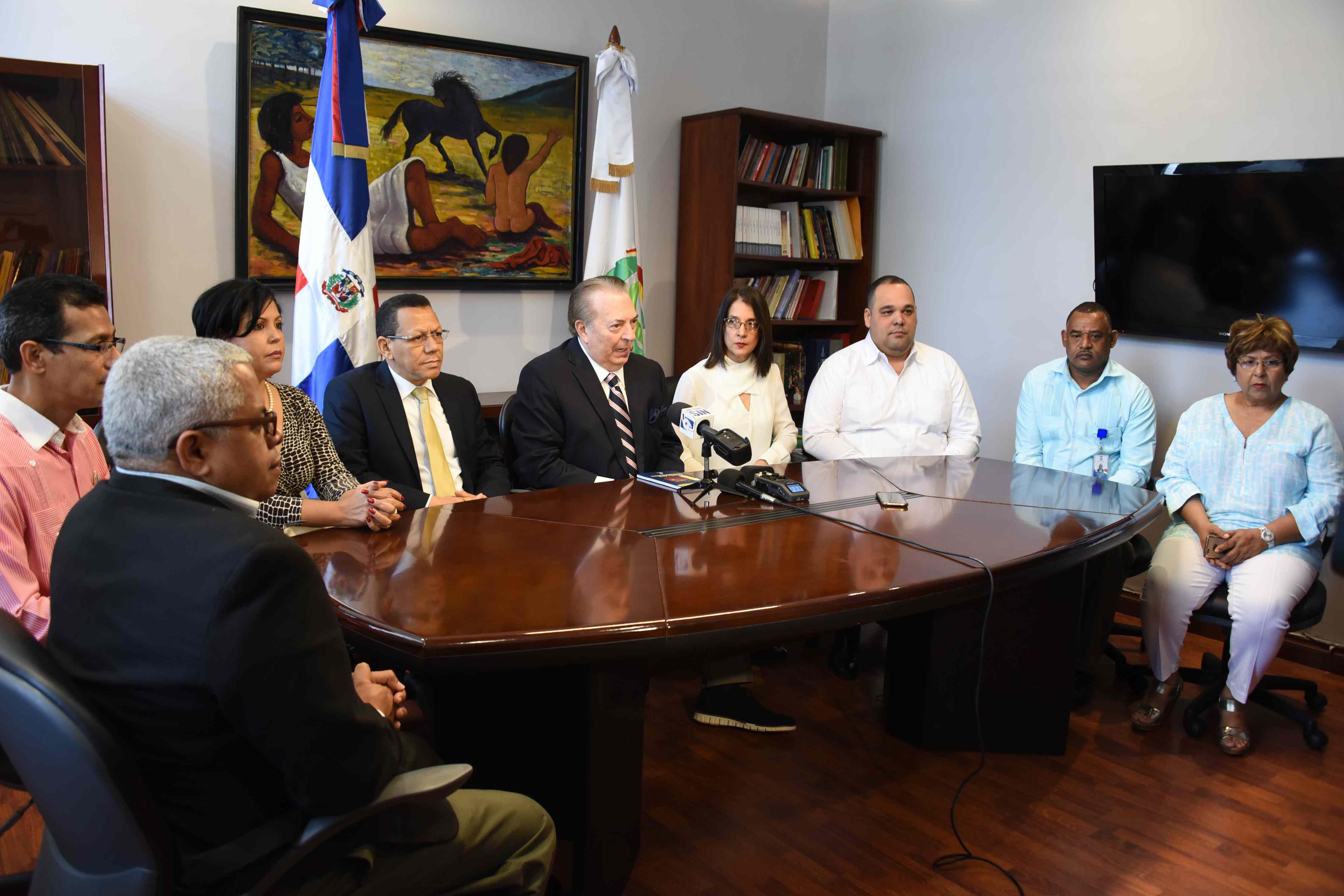 Ministerio de Cultura y autoridades de Sánchez Ramírez anuncian Feria Regional del Libro 2018