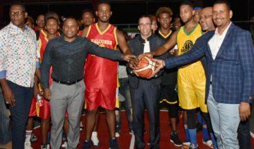 Dedican a ministro de Educación XXVI Torneo Superior de Baloncesto Nigua 2018