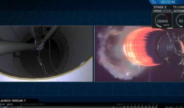 SpaceX lanza el cohete Falcon 9