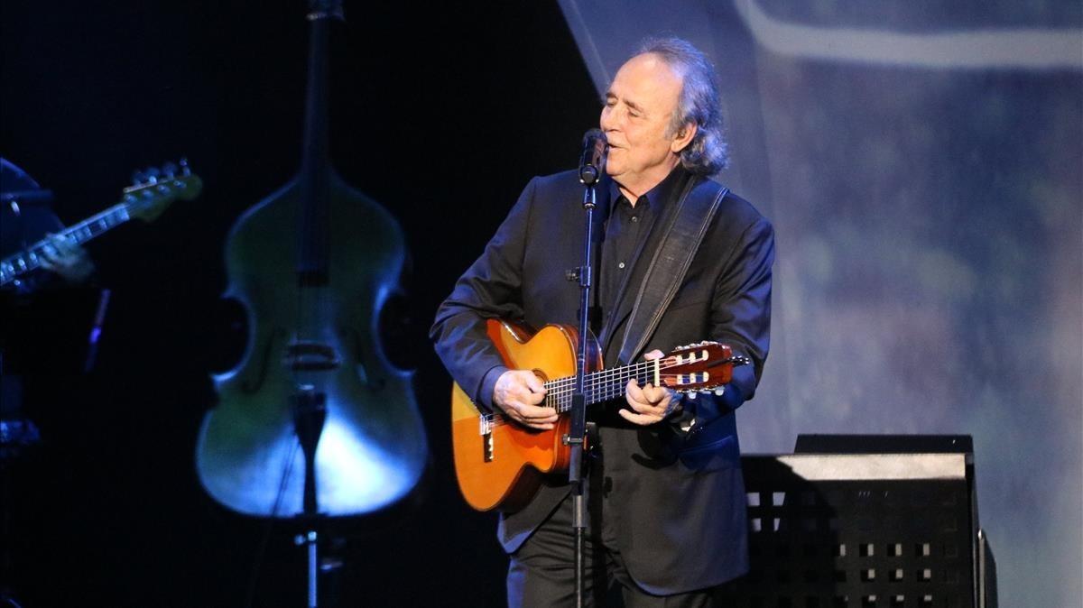 Serrat cancela seis conciertos de su gira por laringitis