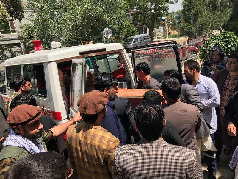 Al menos 12 muertos y 20 heridos en atentado suicida en el este de Afganistán