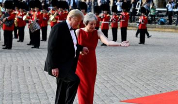 May tiende la mano a Trump para un pacto