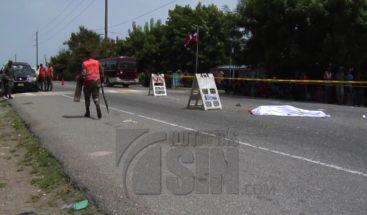Adolescente muere aplastado por camión en SJM