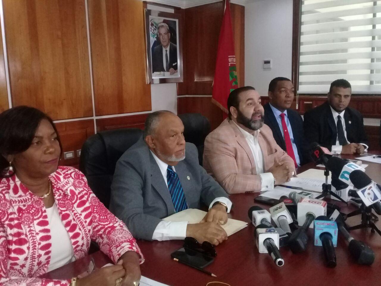 Dirección PRSC ratifica su actual bufete directivo Cámara de Diputados
