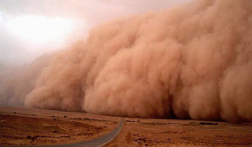 Disminuyen las lluvias en RD por causa de polvo de Sahara, según Onamet