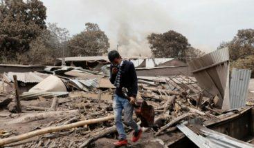 Elevan a 147 los muertos por la erupción del volcán de Fuego de Guatemala