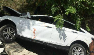 Un muerto y tres heridos en accidente en carretera El Seibo-Hato Mayor