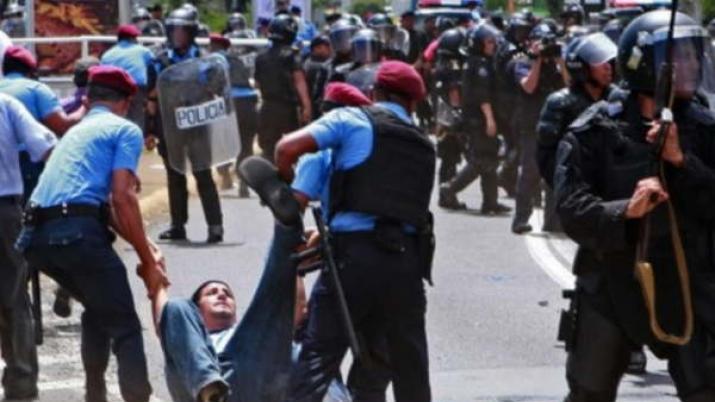 Al menos 4 policías y un civil muerto durante protesta en Nicaragua