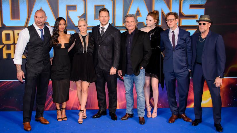 'Guardianes de la Galaxia' piden a Disney incorporar a James Gunn