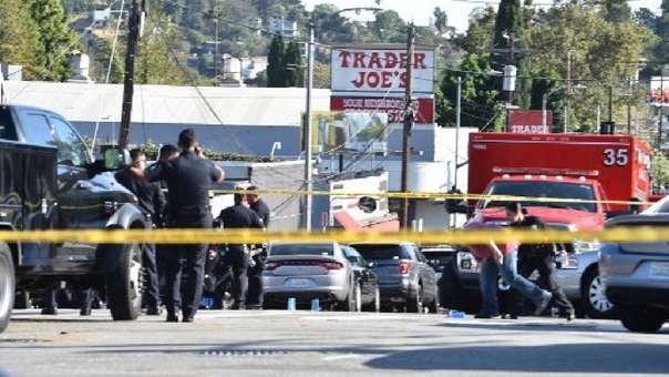 Muere una mujer tras toma de rehenes en supermercado de Los Ángeles