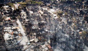 La cifra de muertos por los incendios en Grecia se eleva a 85