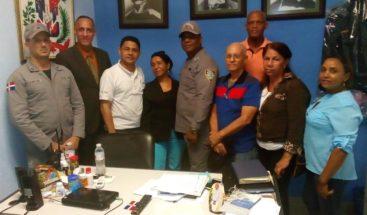 Cúpula comunitaria de Villa Juana se reúne con Policía Nacional