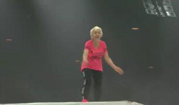 VIRAL: Una anciana de 90 años impresiona a Daddy Yankee bailando