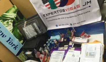 Detienen a tres personas dedicadas a gestionar visas de manera fraudulenta