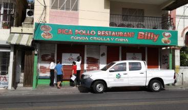 Suspenden comercialización de restaurante en La Vega