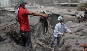 Suben a 125 los muertos por la erupción del volcán de Fuego en Guatemala