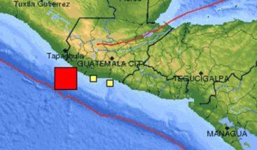 Un sismo de magnitud 5 sacude el sur y centro de Guatemala sin causar daños
