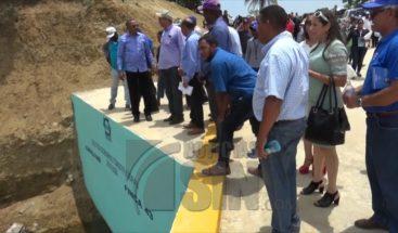 Agricultores de Dajabón serán beneficiados por badén construido en presa agrícola