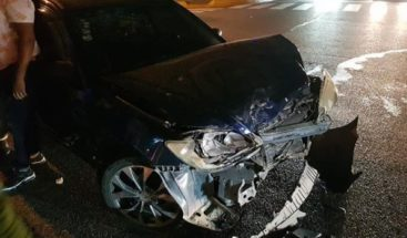 Comunicadora Milagros Germán sufre accidente de tránsito; sale ilesa