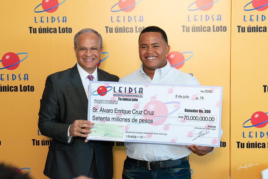 Delivery gana 70 millones de pesos en la Leidsa