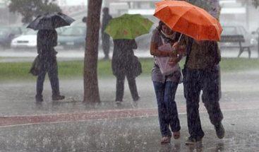 Continúan los aguaceros con tormentas eléctricas, según Onamet