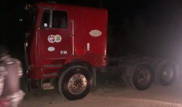 Roban una cola de camión cargada con más de 650 sacos de azúcar en SPM