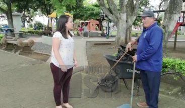 Sistema de vigilancia ayuda a evitar que personas tiren basura en parque de Colombia