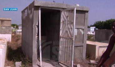 Aumentan los robos en cementerios de San Juan