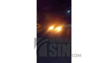 Residentes del sector Don Bosco protestan por falta de energía eléctrica