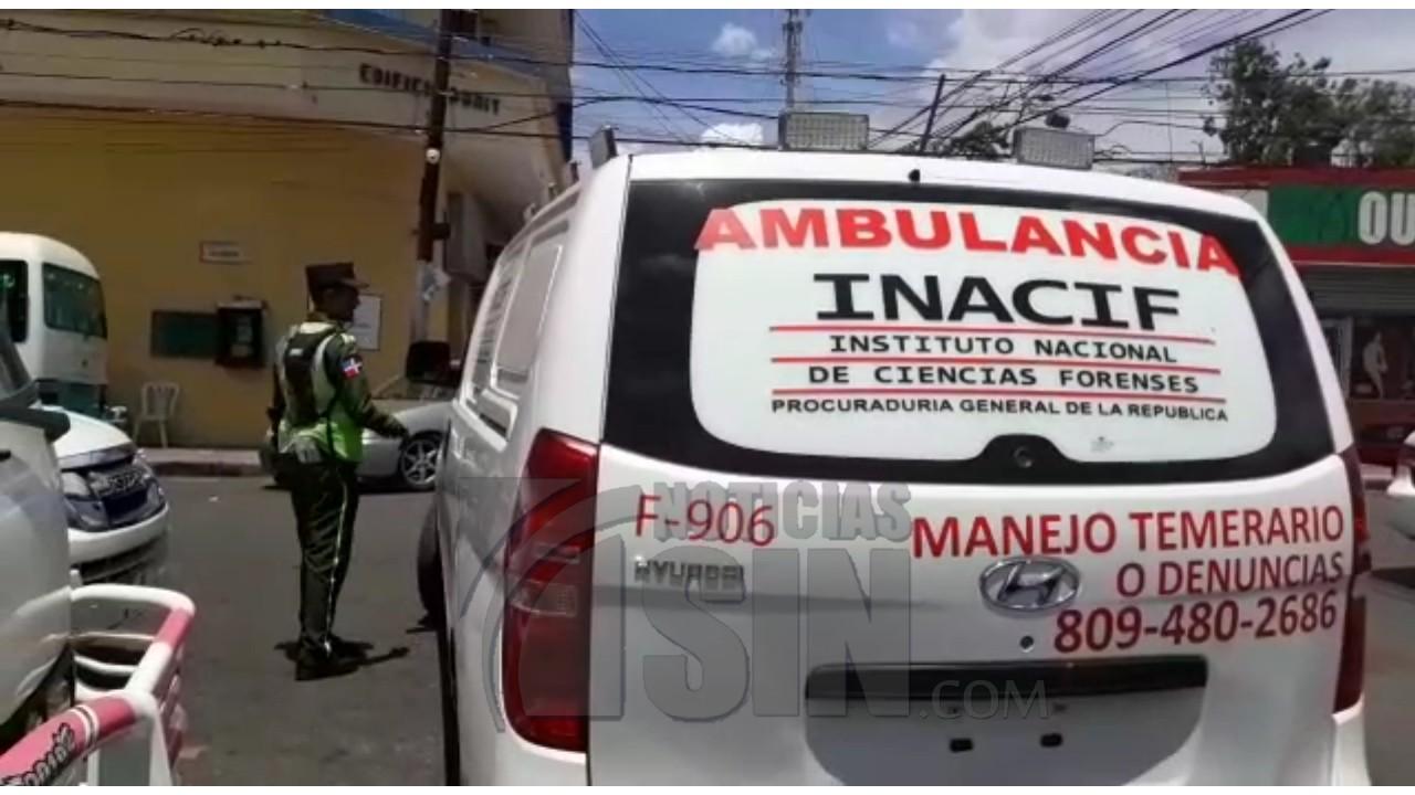 Desconocidos matan hombre a tiros en la calle 30 de Marzo en Santiago