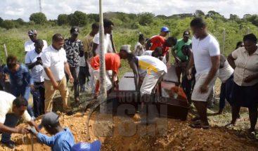 Entierran a tres hermanitos murieron ahogados en SPM