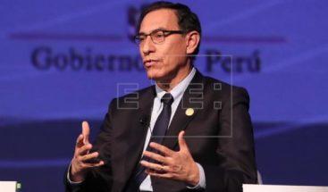 El presidente de Perú anuncia una reforma integral del sistema de justicia