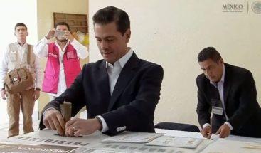 Peña Nieto dice que respaldará a quien sea elegido nuevo mandatario de México
