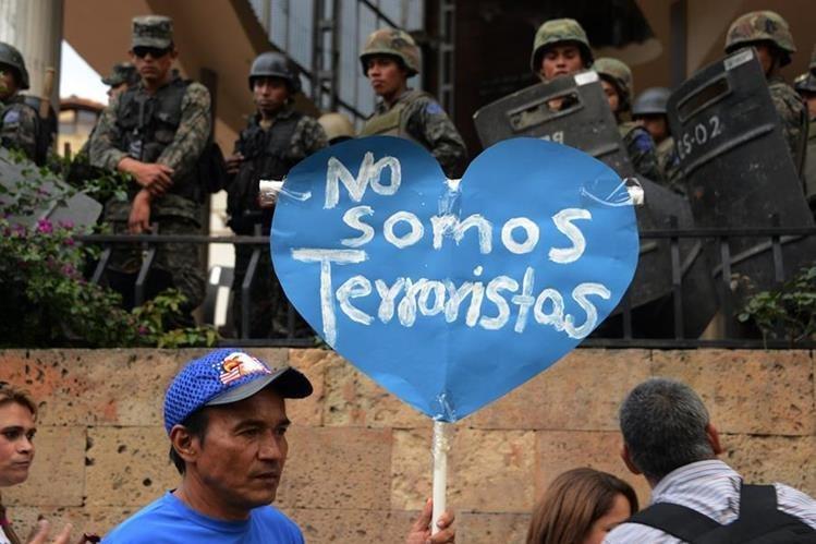 ONU denuncia que la ley sobre terrorismo en Nicaragua criminaliza la protesta