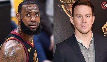 LeBron James se burla de la próxima película 'Smallfoot' con Channing Tatum