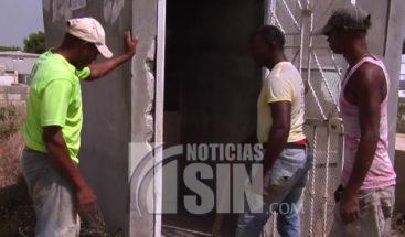 ¡Ni los muertos se salvan! malhechores roban en cementerio de San Juan