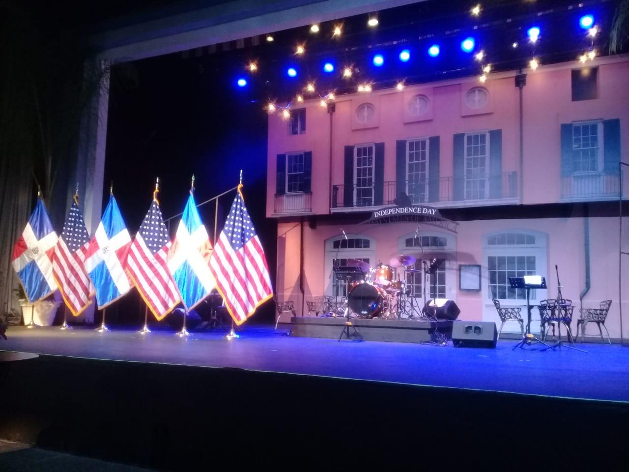 Embajada EEUU en RD celebra aniversario 242 de la Independencia estadounidense