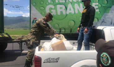 DNCD decomisa 258 libras de marihuana en Valverde
