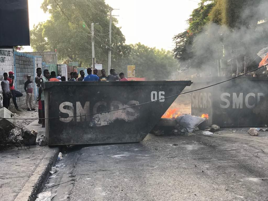 Las protestas siguen en Haití mientras el presidente pide cese de violencia