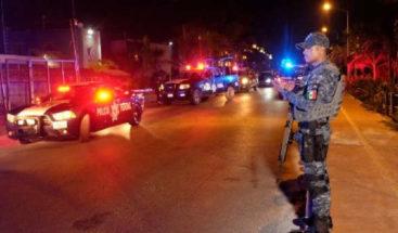 Cinco muertos en tiroteo entre policías y criminales en caribe mexicano