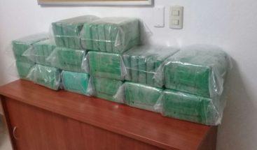 Ocupan 71 kilos de cocaína en Costas del Seibo