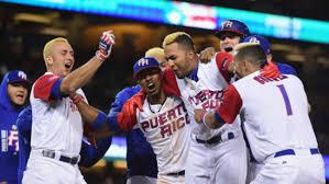 Puerto Rico vence a Cuba, que pierde invicto de 36 años en el béisbol