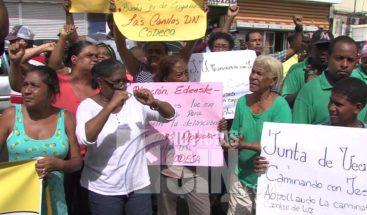Alrededor de 19 barrios de la zona norte de la capital protestan por apagones