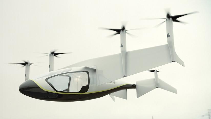 Rolls Royce presenta su vehículo volador