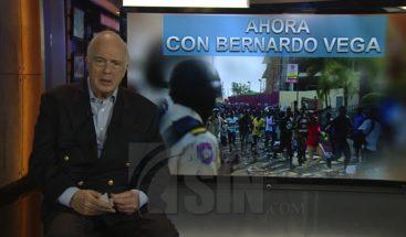 """Ahora con Bernardo Vega: """"La diferencia entre Leonel Fernández y Luis Abinader se está estrechando"""""""