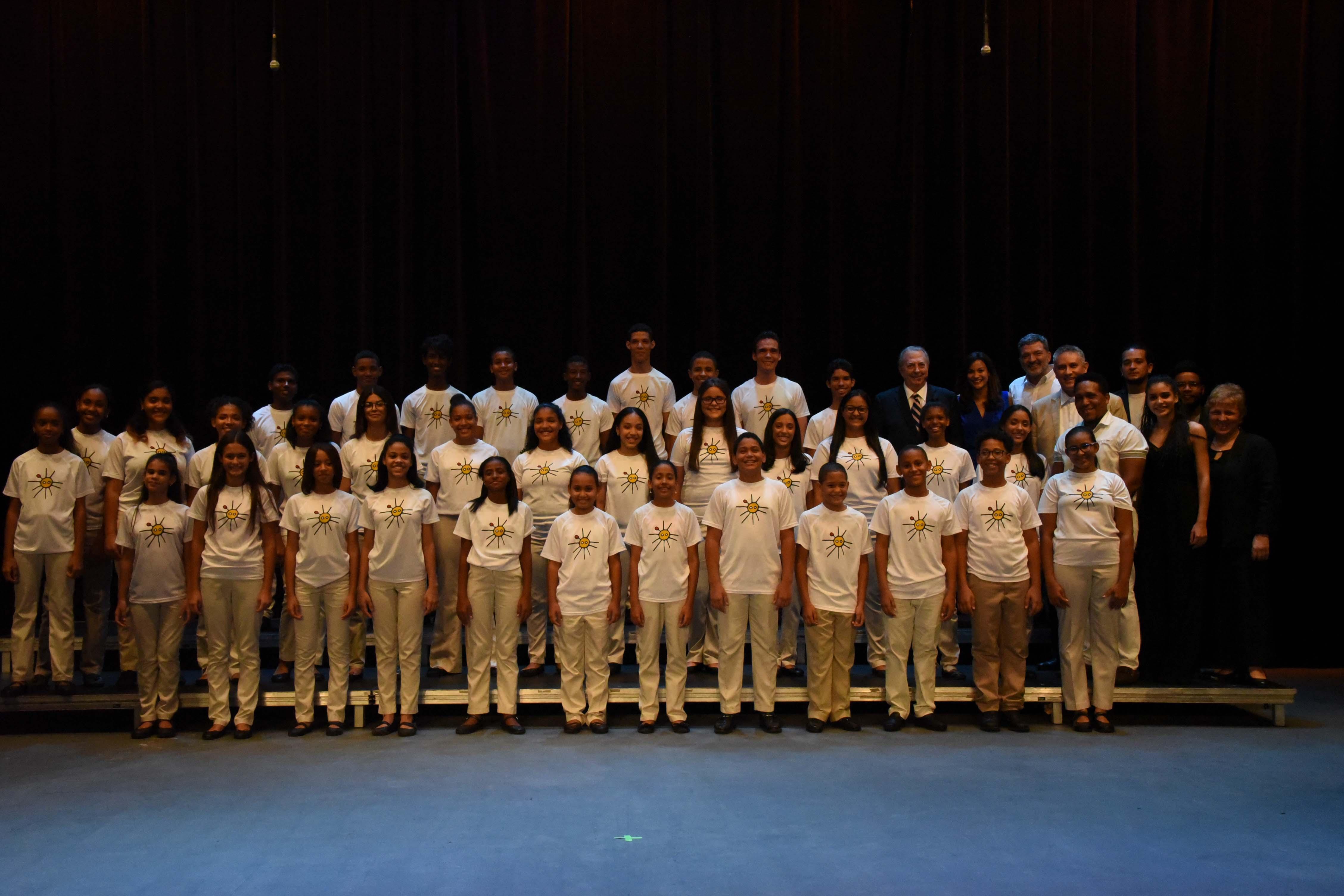 El Coro de Niños de Santo Domingo celebró concierto de gala